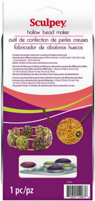 Polymer clay bead making for Perfect bake pro system